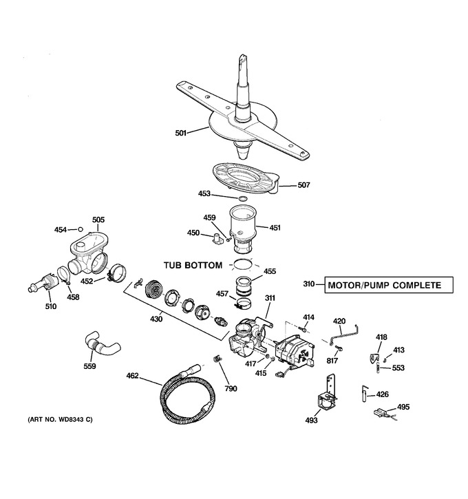 Diagram for GSD3360R15SS