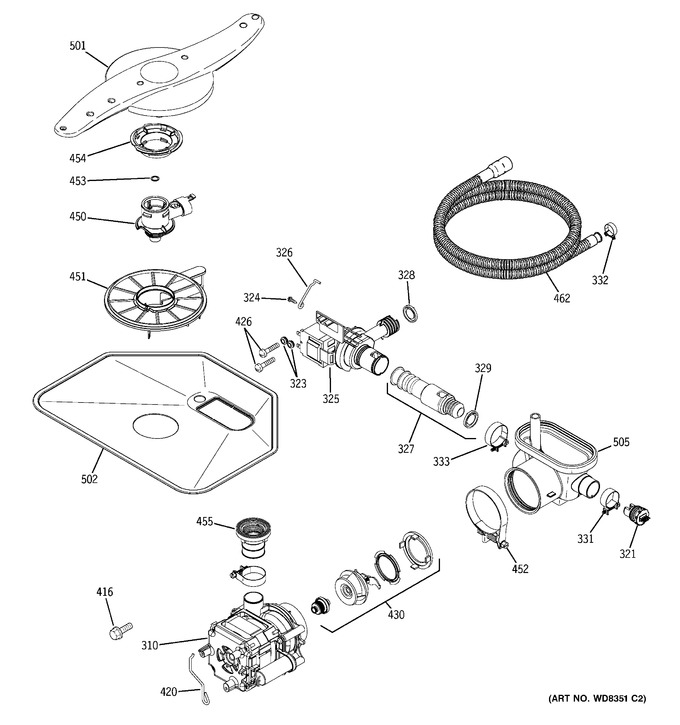 Diagram for GLD6964R30SS