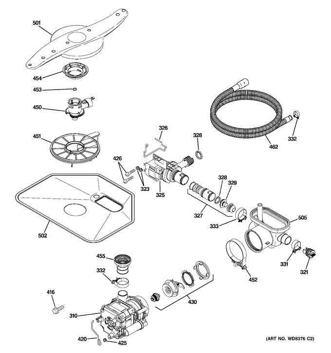 Diagram for PDW7880R30SS