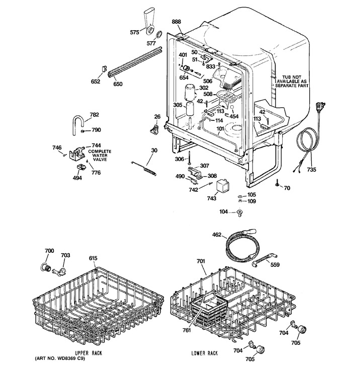 Diagram for GSD2101R20BB
