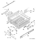 Diagram for 3 - Upper Rack Assembly