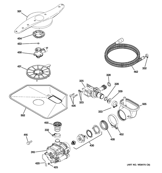 Diagram for GLD4468R10SS