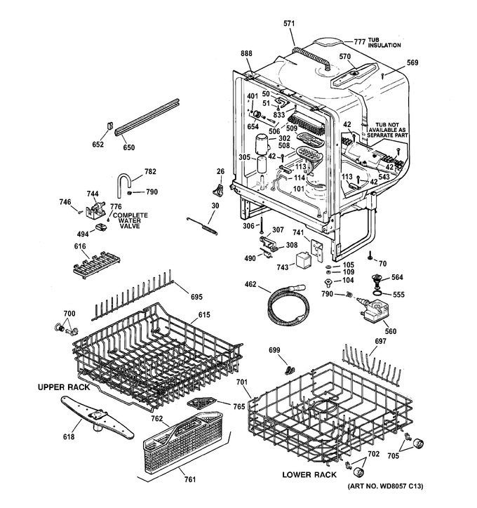Diagram for GSD5110D03AA