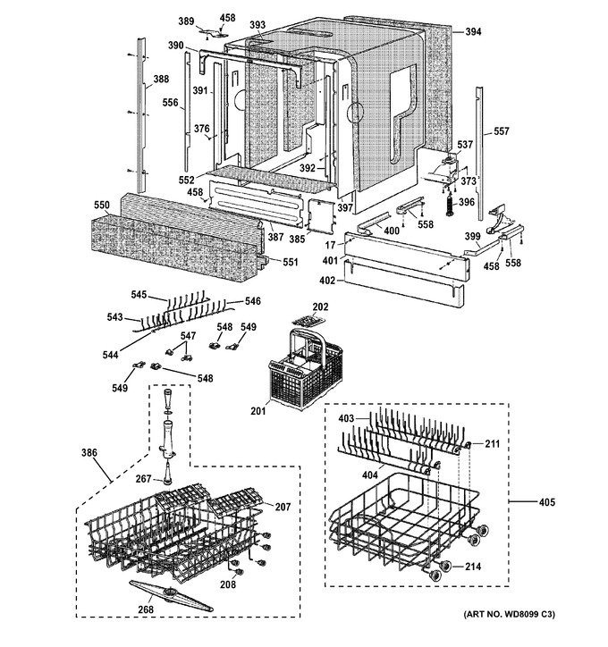 Diagram for ZBD7000G05II