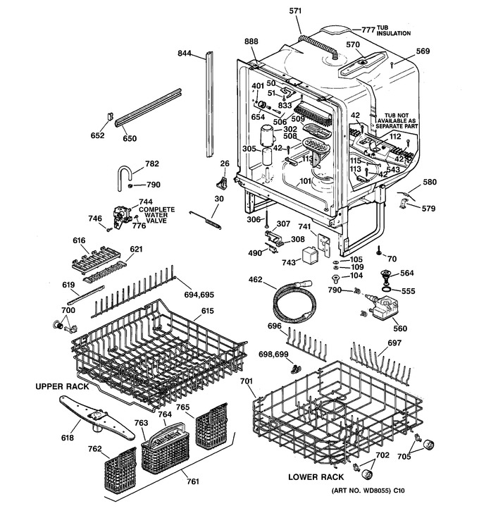 Diagram for GSD5940F00SS