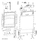 Diagram for 1 - Escutcheon & Door Assembly