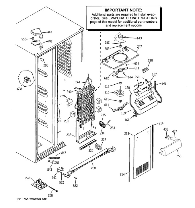 Diagram for GSS25GSHBCSS