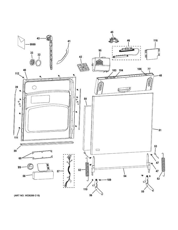 Diagram for PDW1860N00SS