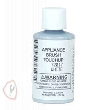 72017 Whirlpool Kenmore Roper Appliance Exterior Touch-Up Paint (white)