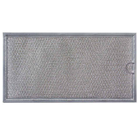 "W10113040A W10113040A Whirlpool Kenmore Roper Microwave Grease Filter (6-5/8"" x 12-1/4"" x 3/32"")"