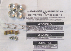 5303302413 Frigidaire Range / Oven / Stove Natural Gas to LP Conversion Kit