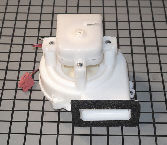 5209JA1044A 5209JA1044A LG Refrigerator Ice Maker Cooling Damper Fan Blower Motor Duct Assembly, Connector