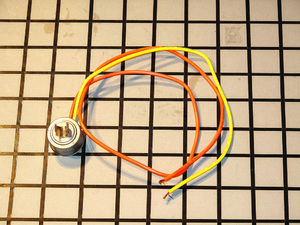 WR50X112 GE Refrigerator Defrost Thermostat
