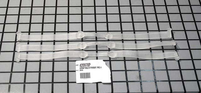 420978P 420978P Fisher & Paykel STRAP MLD STRAIGHT PKG 4