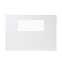 WB56T10037 GE Range / Oven / Stove White Outer Door Glass