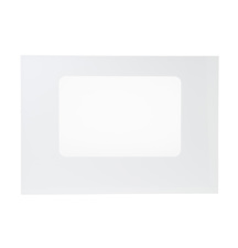 WB56T10040 GE Range / Oven / Stove White Outer Glass Door