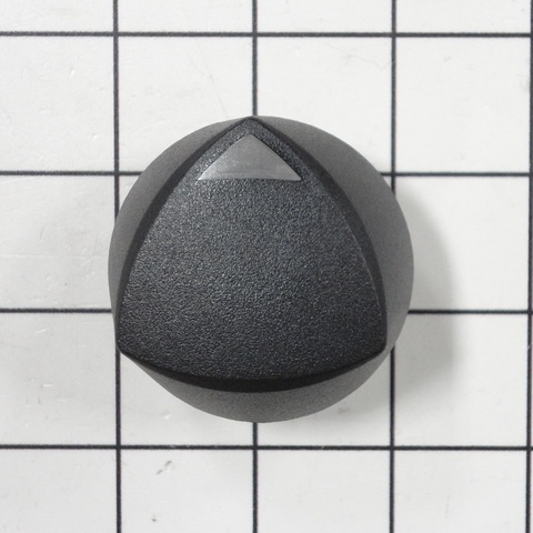 72731 72731 Dacor Range/Cooktop Burner Control Knob, Black