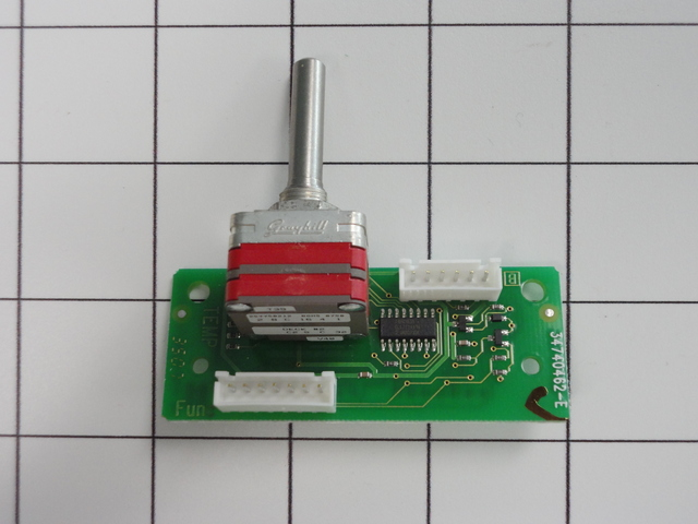 545512P 545512P Fisher & Paykel ASSY TEMP SWITCH PCB OD/OS30