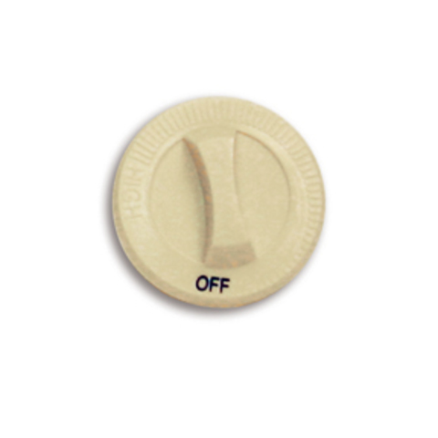 040032 040032 Cadet Manufacturing KNOB C/CT DP, ALM WITH OFF