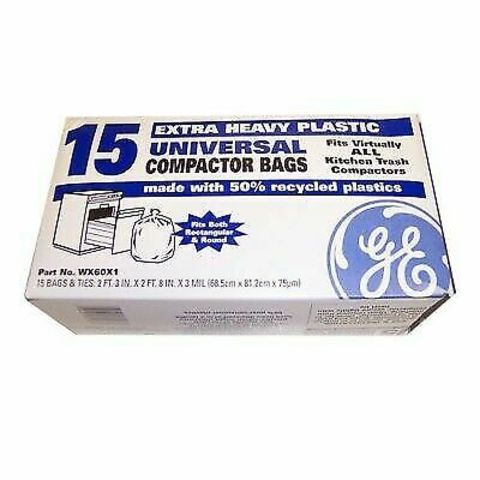 WX60X1 WX60X1 GE Universal Compactor Bag 15-Pack