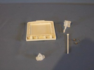 4387043 Maytag / Whirlpool Dishwasher Detergent Cover Kit