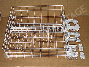 W10134647 Whirlpool Dishwasher Lower Rack Assembly