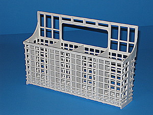FR:5300807512 Frigidaire Dishwasher White Silverware Basket