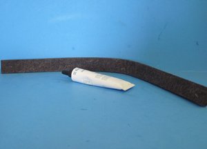 5303937182 Frigiadaire Dryer Upper Felt Drum Seal
