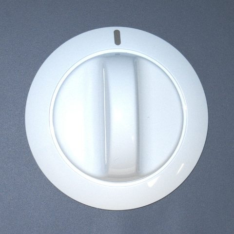 134011703 134011703 Frigidaire Dryer White Timer Knob
