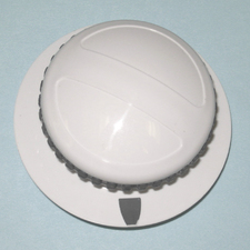 37001184 Maytag Dryer White Timer Knob and Skirt Assembly