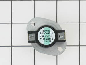 WE4X600 GE Dryer F-Style Thermostat