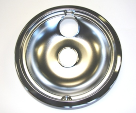 "WB31M15 GE Range / Oven / Stove 8"" Chrome Rear Drip Bowl"