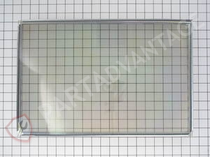 WB55T10067 GE Range / Oven / Stove Window Door Glass with Frame