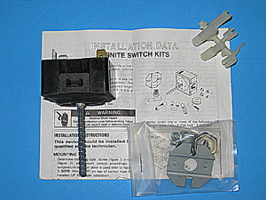 4391990 Whirlpool Electric Range / Oven /Stove Infinite Switch Kit