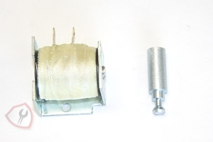 WB24X5097 GE Range / Oven / Stove Solenoid and Armature Kit