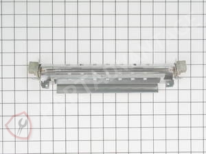 WR51X10055 GE Refrigerator Defrost Heater and Bracket