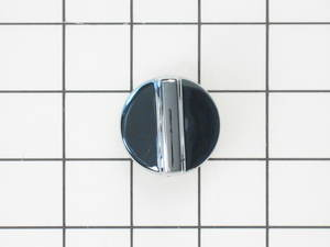 WH1X2760 GE Washer Chrome Timer Knob with Clip