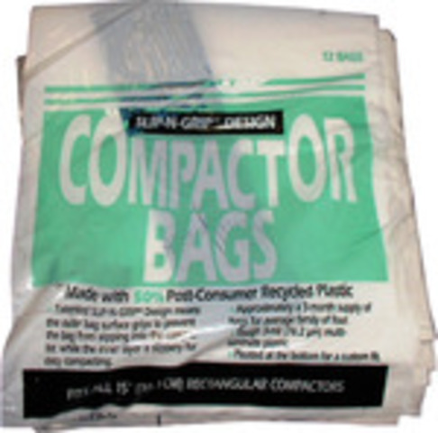 "WC60X5017 GE WC60X501715"" Heavy Duty Compactor Bags (12 Pack)"