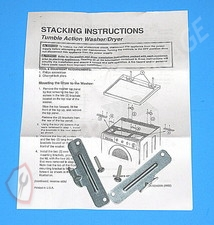 5303937141 Frigidaire Dryer Stacking Kit