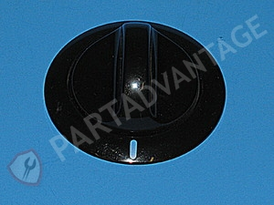 134011700 Frigidaire Dryer Black Timer Knob