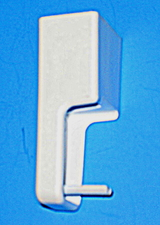 316137000 Frigidaire White Handle End Cap for Ranges / Stoves / Ovens