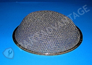 WB2X2052 General Electric Aluminum Round Dome Range Hood Filter