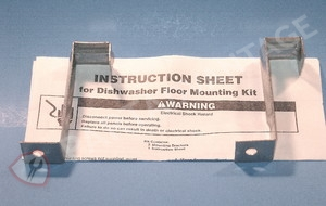 4396194 Dishwasher Floor Mount Bracket Kit