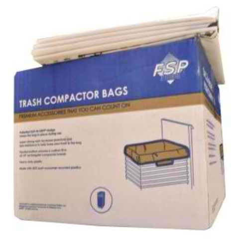 "W10165294RB Whirlpool W10165294RB 15"" Plastic Compactor Bags (60 Pack)"